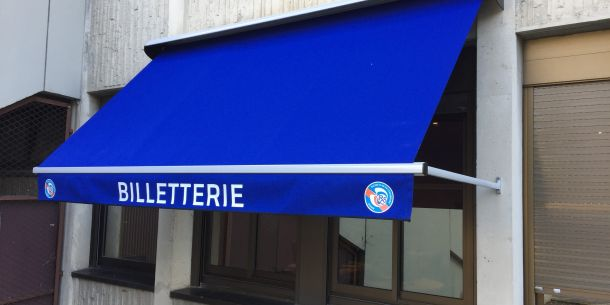 Store bannette à projection
